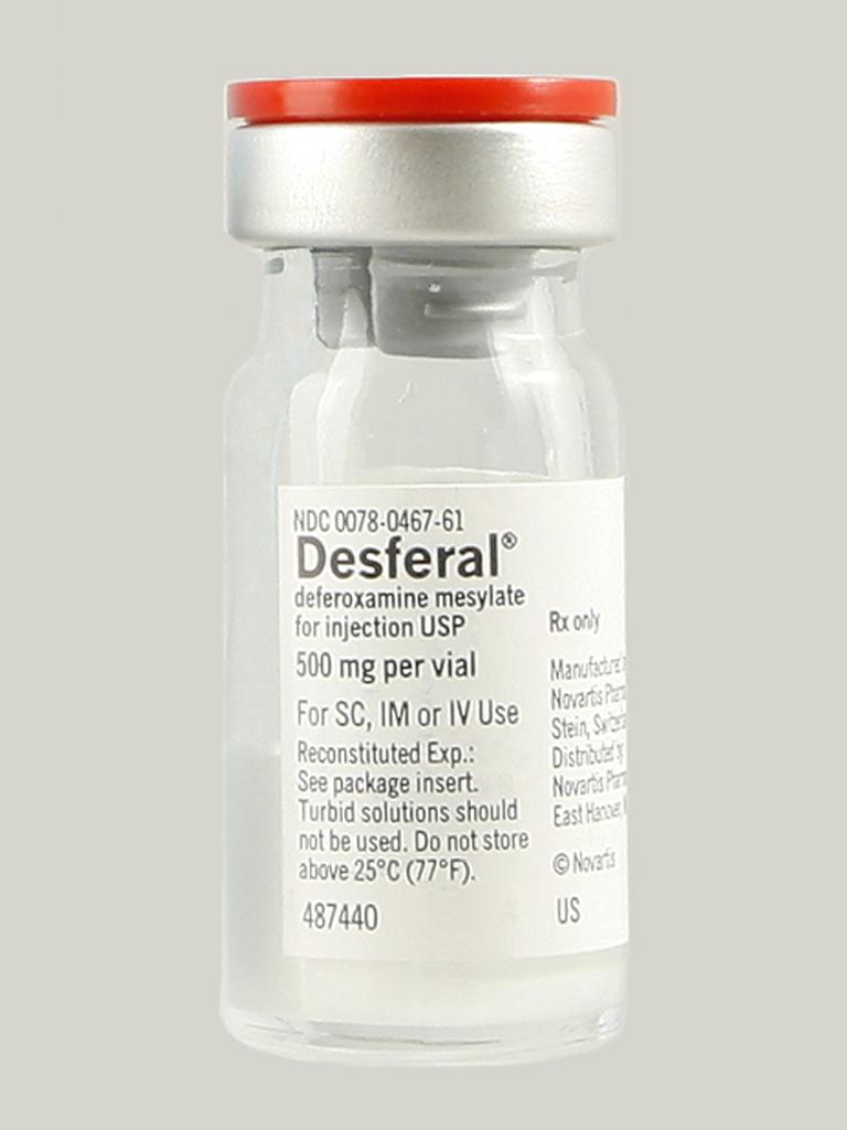 Deferoxamine Reviews recommend