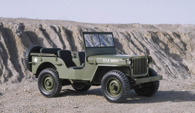 1941 Jeep Willys Ma. The Willys MA featured a
