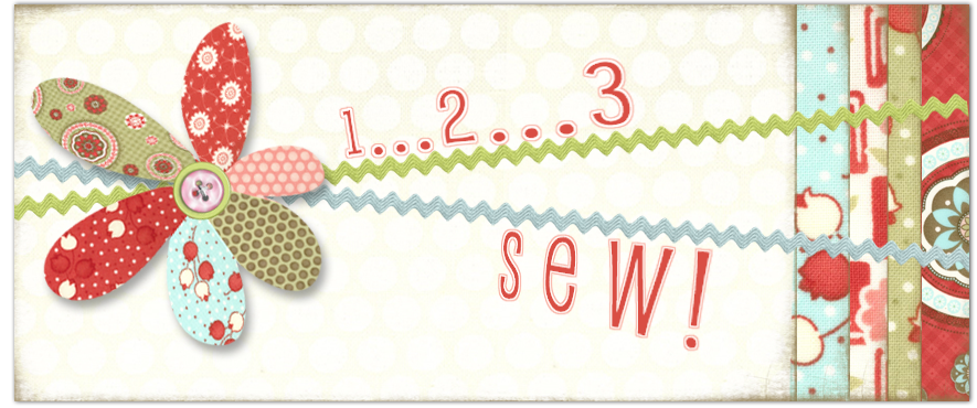 1,2,3 SEW! Sew much to do...Sew little time!