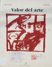 Valor del arte de Tápies