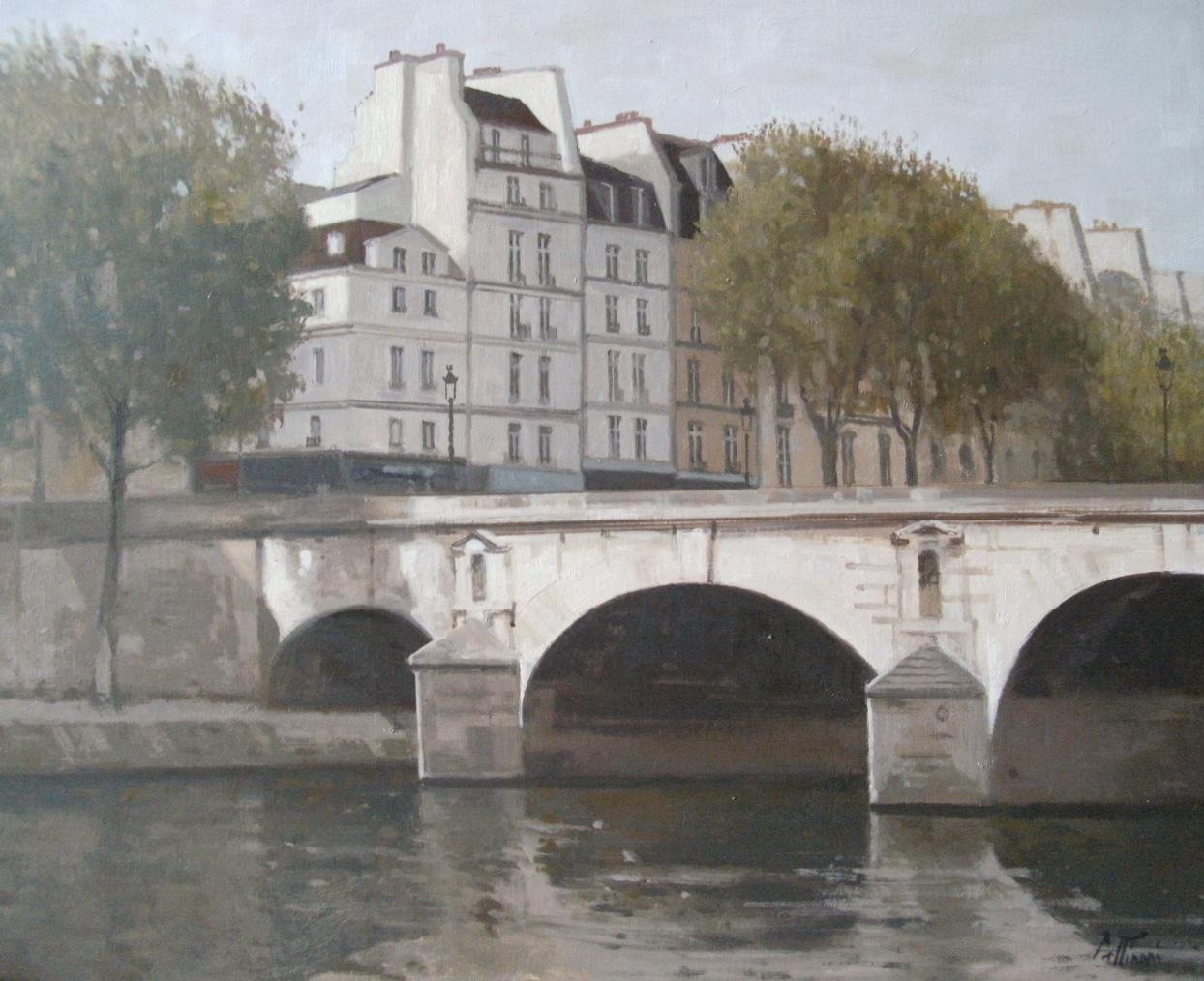 peintures paintings par r gis pettinari pont marie. Black Bedroom Furniture Sets. Home Design Ideas