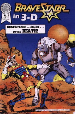 cover of BraveStarr in 3-D #2
