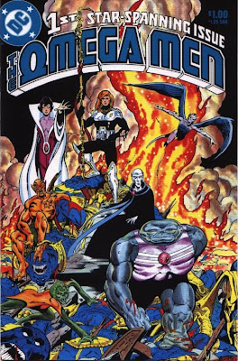 cover of The Omega Men #1 from DC Comics