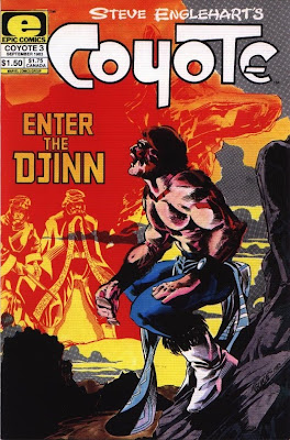 cover of Coyote #3 from Epic Comics