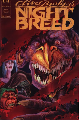 cover of Clive Barker's Nightbreed #5 from Epic Comics