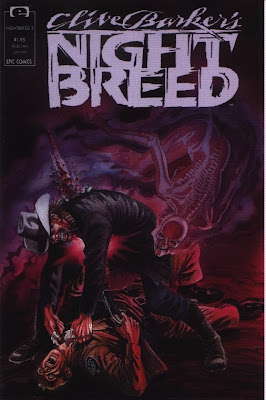 cover of Clive Barker's Nightbreed #3 from Epic Comics