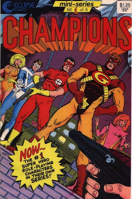 cover of Champions #1 from Eclipse
