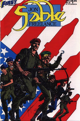 cover of Jon Sable Freelance #32 from First Comics