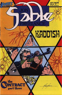cover of Jon Sable Freelance #24 from First Comics
