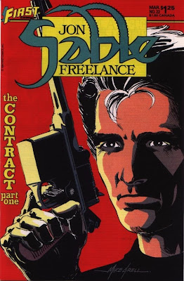 cover of Jon Sable Freelance #22 from First Comics