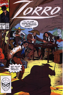 cover of Zorro #6 from Marvel Comics