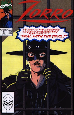 cover of Zorro #5 from Marvel Comics