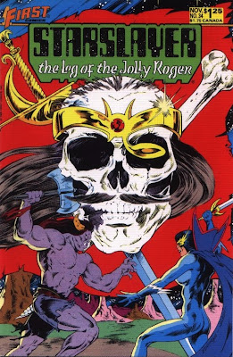 cover of Starslayer #34 from First Comics