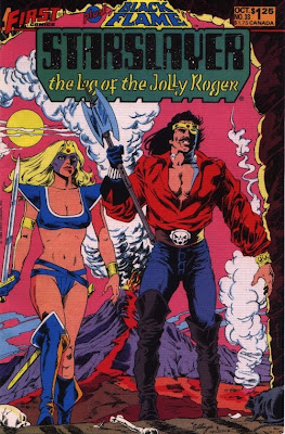 cover of Starslayer #33 from First Comics