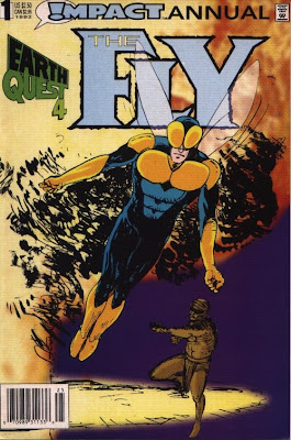 cover of The Fly Annual #1 from Impact/DC Comics