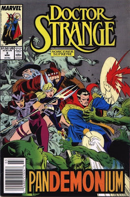 cover of Doctor Strange, Sorcerer Supreme #3 from Marvel Comics