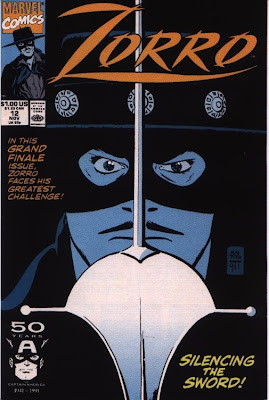 cover of Zorro #12 from Marvel Comics