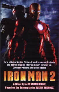 cover of Iron Man 2 novel