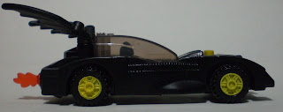 other side view of McDonald's Lego Batmobile