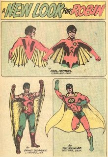 A New Look For Robin from Batman #259 from DC Comics