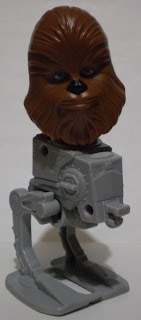 Chewbacca bobble head on AT-ST