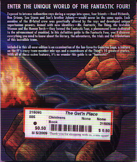Fantastic Four The Universal Guide back cover