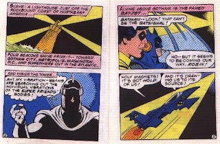 Super Heroes in The Secret of the Sinsiter Lighthouse pages 2 and 3