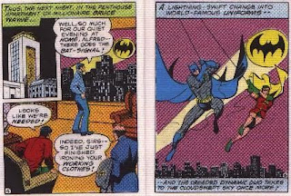 Batman in The Joker's Last Laugh mini comic pages 4 and 5