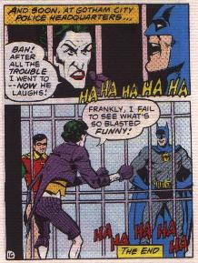 Batman in The Joker's Last Laugh mini comic page 16