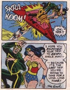 Wonder Woman in The Angle Menace mini comic page 16