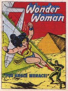 cover of Wonder Woman in The Angle Menace mini comic