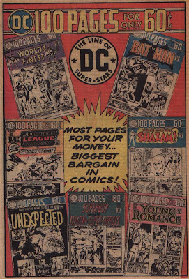 100 page DC Comics ad from Adventure Comics #436