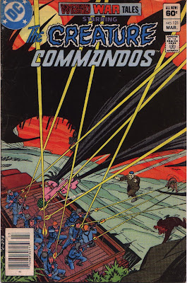 cover for Weird War Tales #121