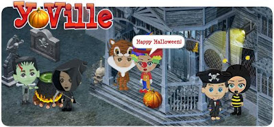 Yoville online game from Facebook