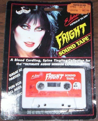 Elvira Fright Sound Tape