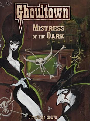 front cover of Ghoultown's Mistress of the Dark cd/dvd