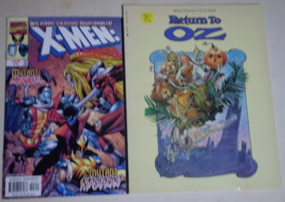 X-Men: Liberators #3 and Return To Oz