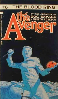 cover of The Avenger #6 The Blood Ring