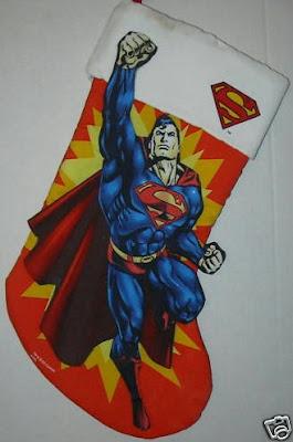Superman Christmas stocking #1