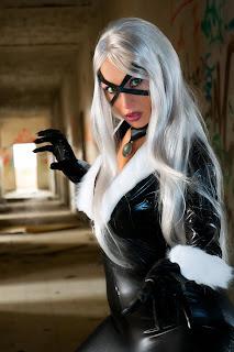 Giorgia Cosplay as Black Cat #3