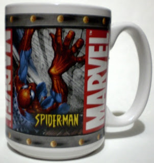 Spider-Man on Marvel Mug 2003