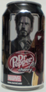 Iron Man 2 Dr Pepper Cherry #8: Tony Stark Iron Man #1