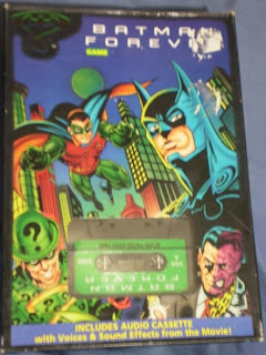 Front of Batman Forever game box