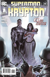 Cover of Superman: The Last Family of Krypton #1