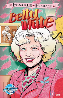 Cover of Female Force: Betty White by Adam Ellis