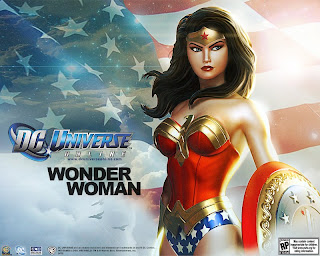Wonder Woman from DC Universe Online
