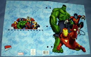 Exterior of Marvel Heroes portfolio