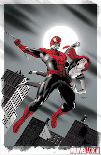 Amazing Spider-Man #646 color cover artwork by Mike Mayhew