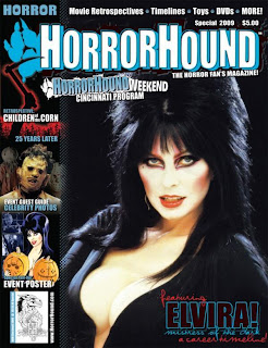 Cover of Horrorhound Special 2009 featuring Elvira