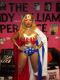 Wendy Williams as Wonder Woman